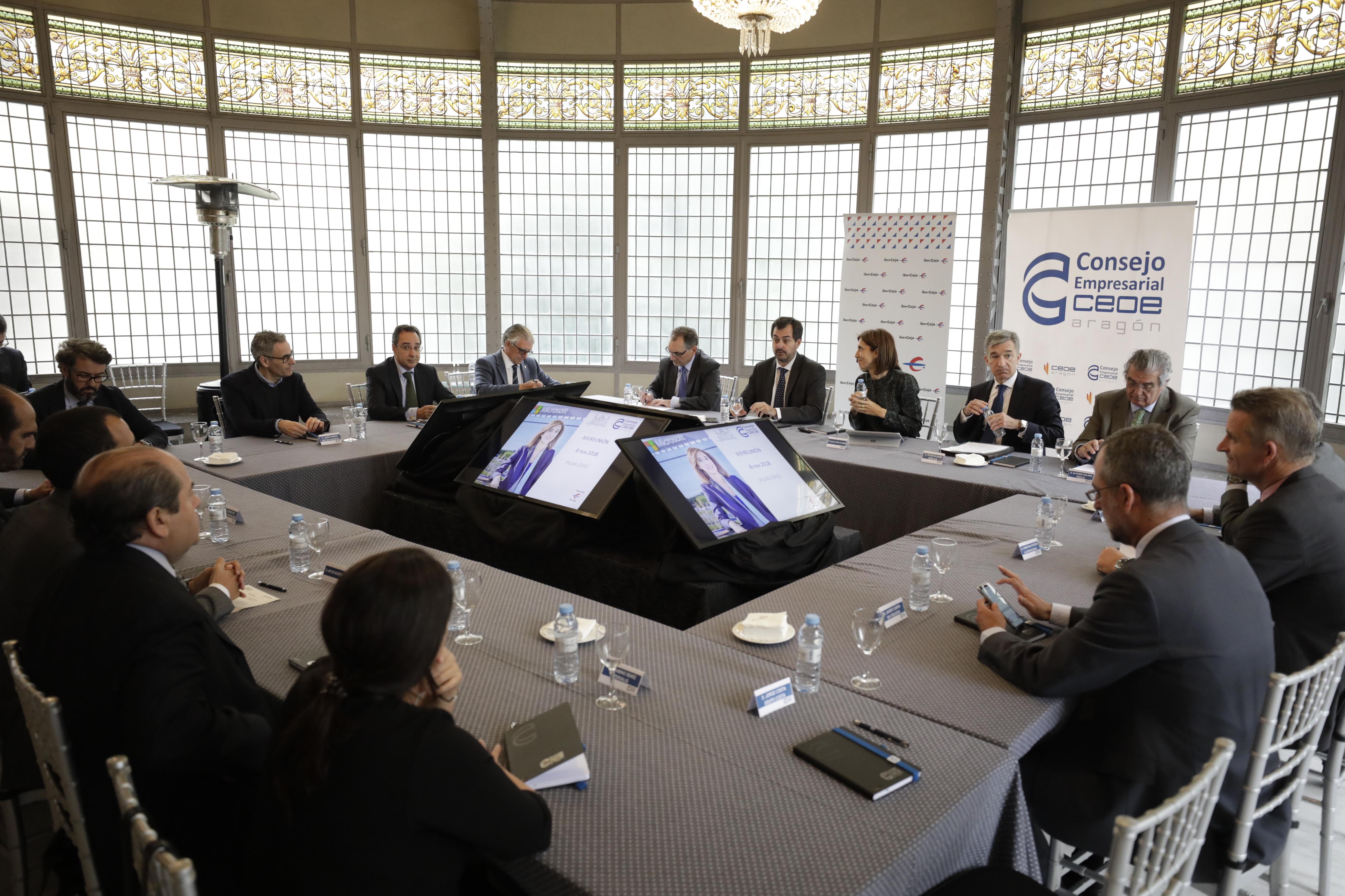 Reunión Consejo CEOEZ Digitalización Empresas